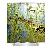 Signs Of The Time Shower Curtain