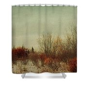 Signs Of Winter Shower Curtain