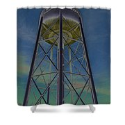 Sikeston Water Tower  II Shower Curtain