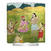 Sikh Painting Shower Curtain