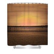 Silence 3 Shower Curtain