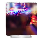 Silence Of The Noise Shower Curtain
