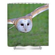 Silent Approach Shower Curtain