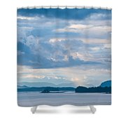 Silent Beauty Shower Curtain