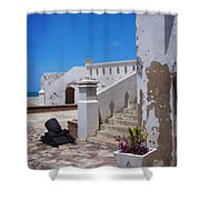 Silent Cannon Shower Curtain