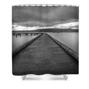 Silent Dock Shower Curtain