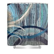 Silent Drizzle II Shower Curtain