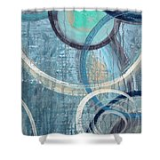 Silent Drizzle Shower Curtain