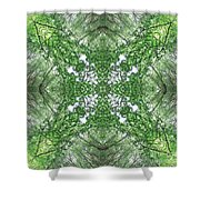 England Silent Forest One Shower Curtain