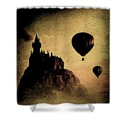 Silent Journey  Shower Curtain