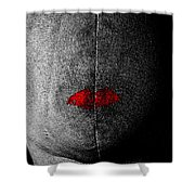 Silent Partner Shower Curtain