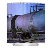Silent Running Shower Curtain