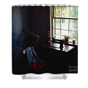 Silent Sewing Room Shower Curtain