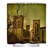 Silent They Stand Shower Curtain
