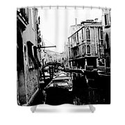 Silenzio Venice Italy Shower Curtain