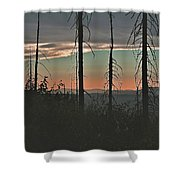 Silhouette @ Yosemite Shower Curtain