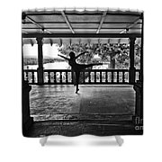 Silhouette Shower Curtain by Audrey Wilkie
