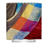 Silk And Wool Shower Curtain