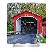 Silk Bridge 8258 Shower Curtain