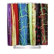 Silk Fabric 01 Shower Curtain