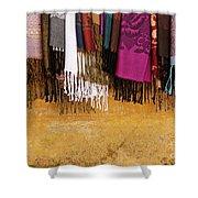 Silk Fabric 02 Shower Curtain