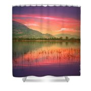 Silky Skies Shower Curtain