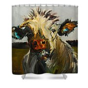 Silly Cow Shower Curtain