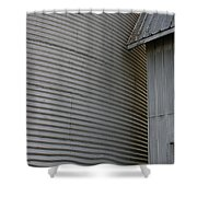Silo Structure Shower Curtain