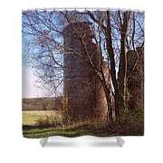 Silos Shower Curtain