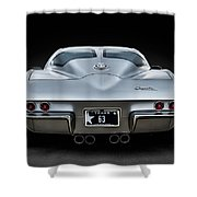 Silver '63 Shower Curtain