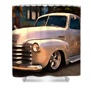 Silver Bullet Shower Curtain