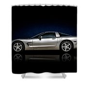 Silver C5 Shower Curtain