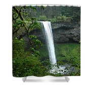 Silver Falls 1 In Oregon Shower Curtain
