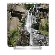 Silver Falls IIi Shower Curtain