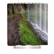 Silver Falls State Park Shower Curtain