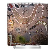 Silver Gull Central Cairns Shower Curtain