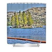 Silver Lake 2 Shower Curtain