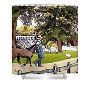 Silver Lake Mill-shenandoah Valley Shower Curtain
