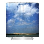 Silver Lake Sand Dunes 2.0 Shower Curtain