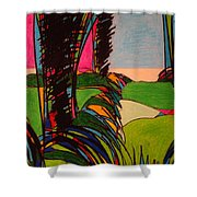 Silver Lining 9 Shower Curtain