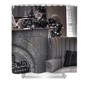Silver Screen Shower Curtain