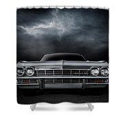 Silver Sixty Five Shower Curtain