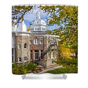 Silver State Autumn Shower Curtain
