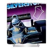 Silverstone Shower Curtain