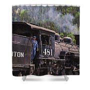 Silverton Engine 481 Shower Curtain