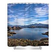 Silverwood Lake Shower Curtain