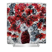Simfoni Of Love Shower Curtain