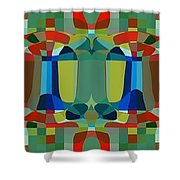 Simple Colors Shower Curtain