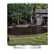 Simple Country Life Shower Curtain