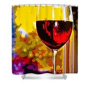 Wine - Simple Life Shower Curtain